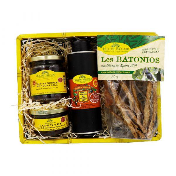 coffret olives de nyons