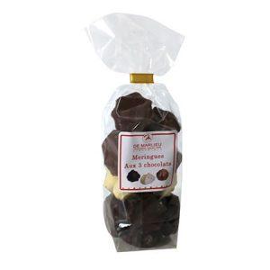 meringues aux chocolats